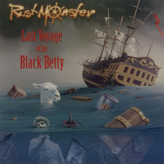 CD - Rustmonster: Last Voyage of the Black Betty