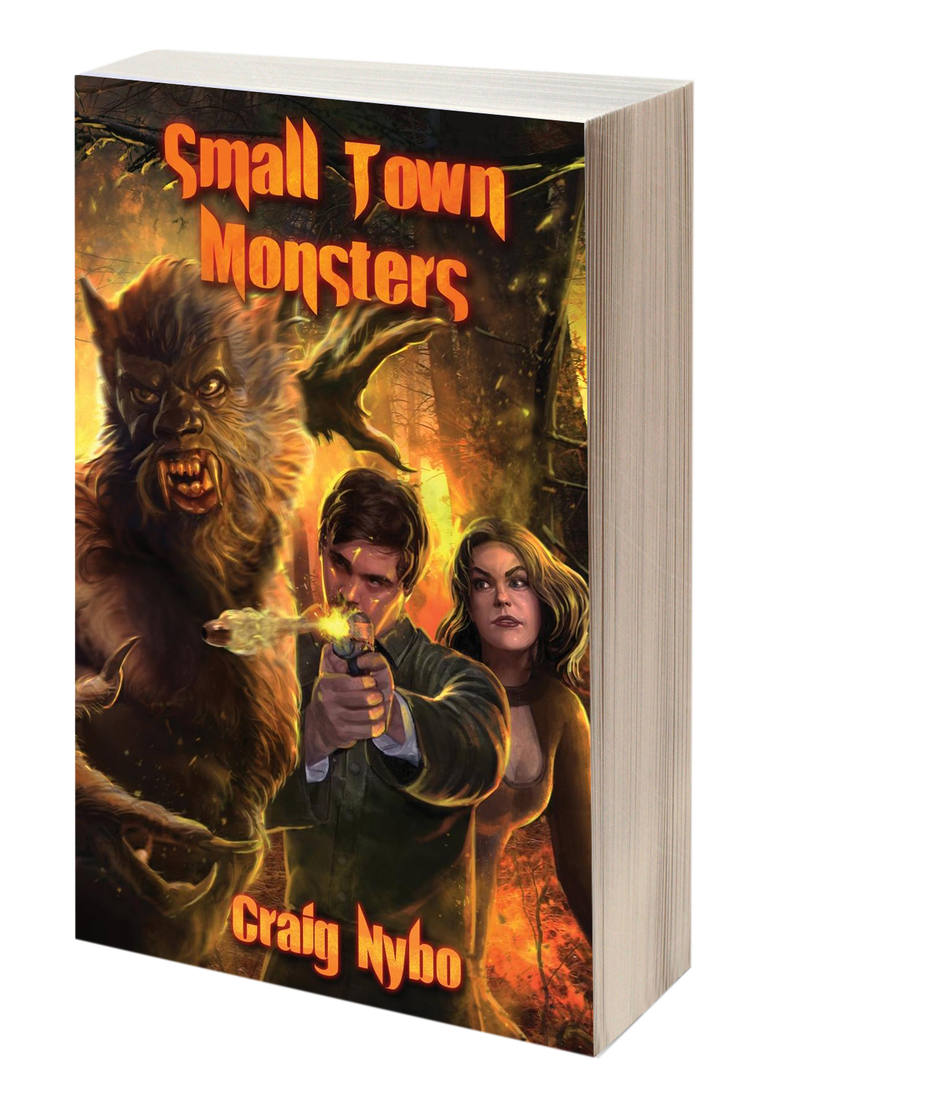 Book - Small Town Monsters